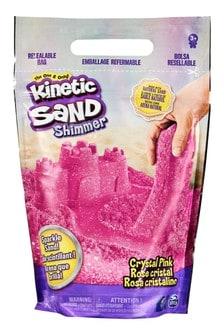 Kinetic Sand 2lb Glitter Bag Pink
