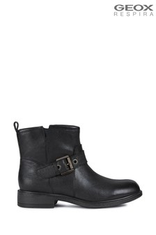 Geox Women's Catria Black Boots