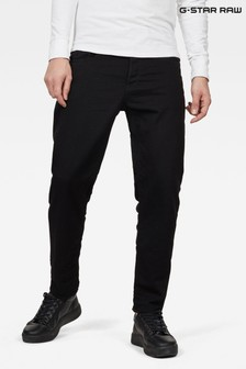 G-Star Black 5650 3D Relaxed Tapered Jeans
