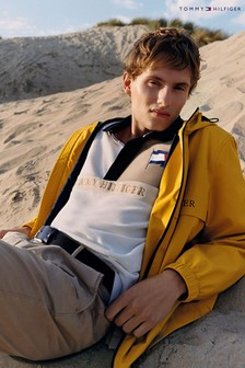 Tommy Hilfiger Yellow Tech Hooded Jacket