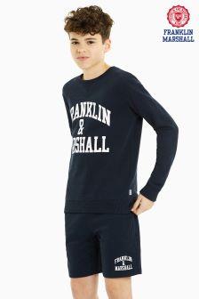 Franklin & Marshall Navy Sweater