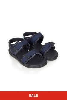 Boss Kidswear Boys Navy Sandals