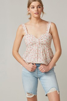 Tie Back Cami Top