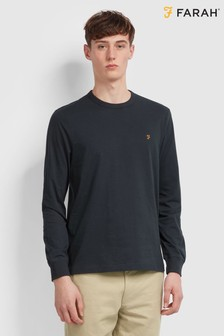 Farah Blue Worth Long Sleeved T-Shirt