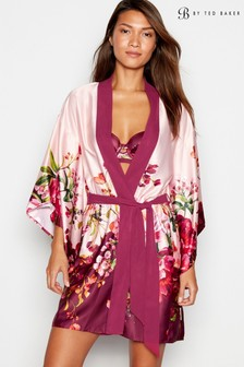 B by Ted Baker Red Serenity Satin Kimono
