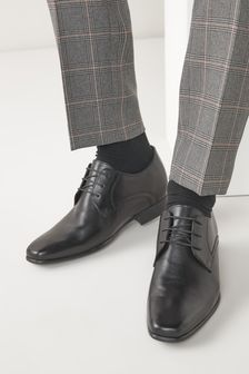 Next Rise Leather Derby Shoes