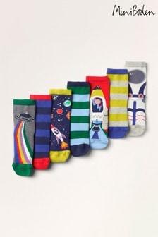 Boden Multi Sock Box 7 Pack