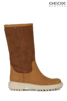 Geox Women's Asheely Brown Boots