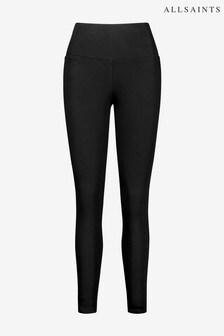 AllSaints Black Cora Leggings