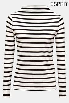 Esprit Turtle Neck Striped Sweater