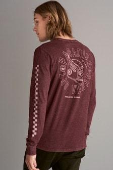 Tie Dye Skull Print T-Shirt