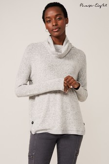 Phase Eight Grey Gala Snuggle Top
