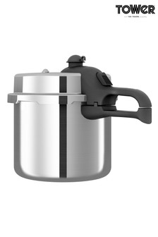6L Hi Dome Aluminium Pressure Cooker by Tower