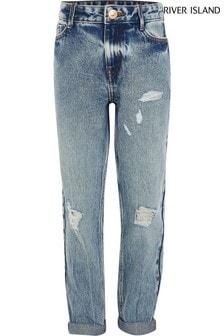 River Island Blue Nile Mom Jeans