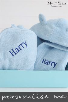 Personalised Robe And Towel Gift Set By My 1st Years
