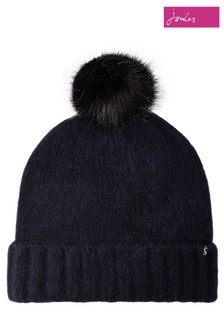 Joules Snugwell Bouclé Hat With Pom