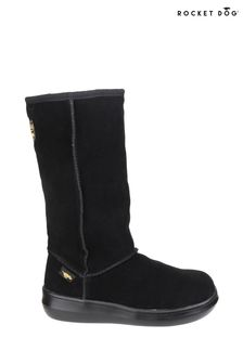 Rocket Dog Black Sugardaddy Pull-On Boots