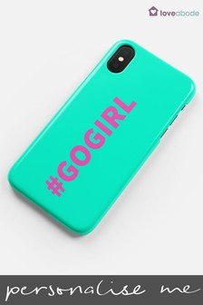 Personalised Hashtag Phone Case by Loveabode