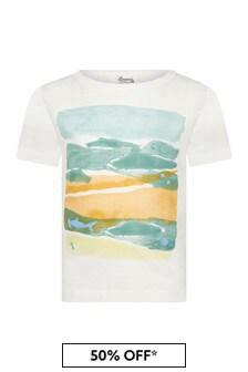 Bonpoint Baby Boys Cream Cotton T-Shirt