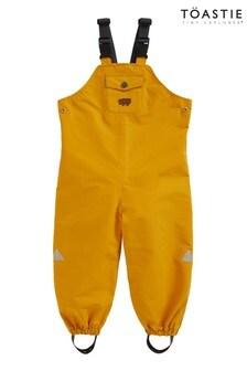 Töastie® Kids Fisherman Yellow Waterproof Dungarees