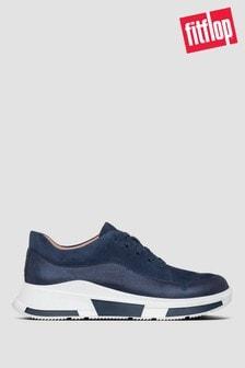 FitFlop™ Blue Freya Suede Sneakers