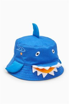 Shark Bucket Hat (Younger)