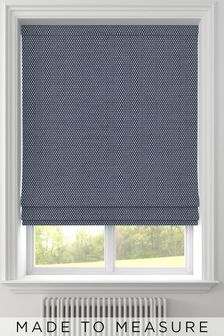 Craven Indigo Blue Made To Measure Roman Blind