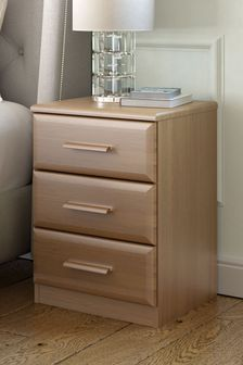 Elmsmore Oak Bedside Table