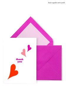 kate spade new york Heart Lips Thank You Notecard Set