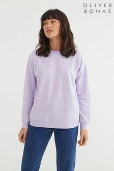 Oliver Bonas Super Soft Lilac Sweatshirt
