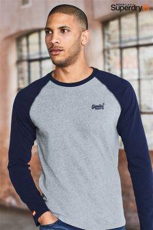 Superdry Raglan Baseball Long Sleeve T-Shirt