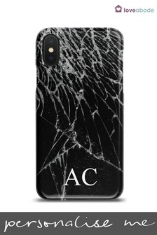 Personalised Crackle Phone Case by Loveabode