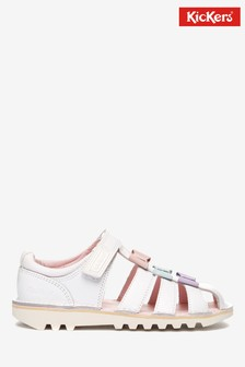 Kickers® Pink Bow Sandals