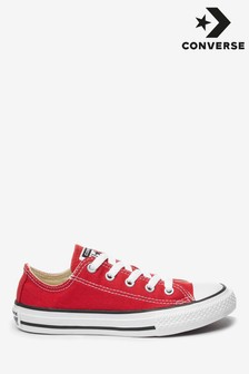 Converse Youth Red Chuck Taylor All Star Lo