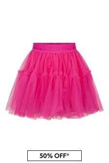 Monnalisa Girls Pink Skirt