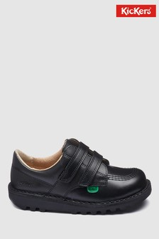 Kickers® Kick Low Turnschuhe mit Klettverschluss, schwarz