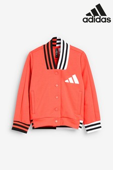 adidas Little Kids Pink Baseball Jacket