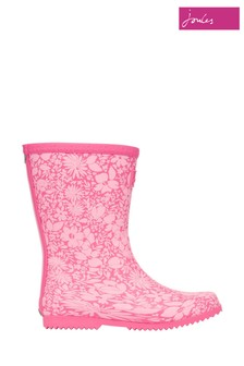 Joules Red Roll Up Foldable Wellies