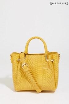 Warehouse Yellow Mini Boxy Cross Body Bag