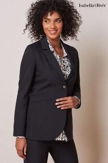 Isabella Oliver Black Josefina Maternity Blazer