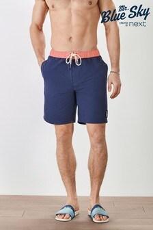 Mr Blue Sky Organic Cotton Blend Board Shorts