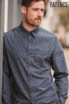 FatFace Blue Lockerley Print Shirt