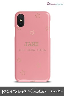 Personalised You Glow Girl Phone Case by Loveabode