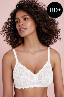 Total Support Non Pad Lace Bra