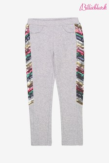 Billieblush Grey Sequin Joggers