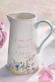 Mum Flower Jug