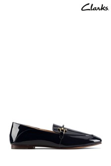 Clarks Navy Patent Pure2 Loafer Shoes