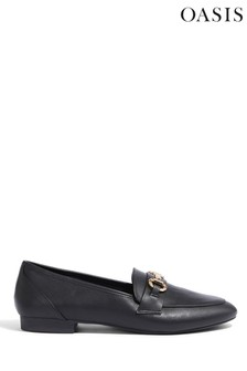 Oasis Black Trim Detail Loafer
