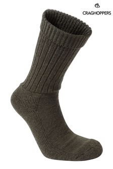 Craghoppers Green Mens Hiker Socks