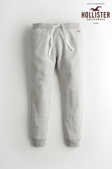 Hollister Grey Logo Joggers